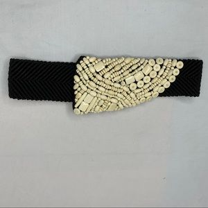 Vintage Belt With Bead Detail